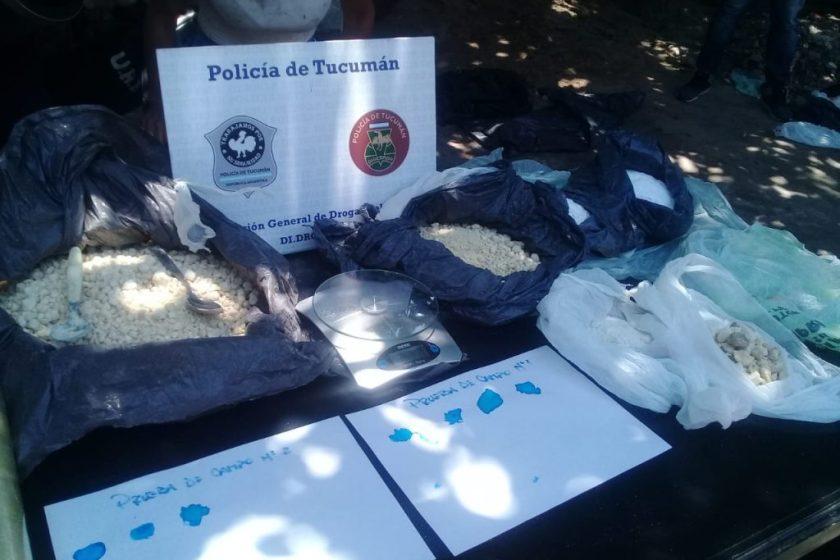 """"""" NARCOS TUCUMANOS"""" : Empezo con una denuncia por violencia de género y terminó con el secuestro de más de 6 kg de cocaína"""