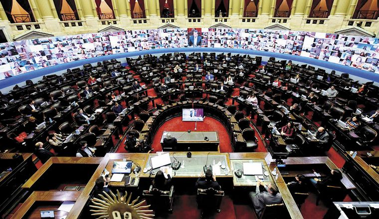 Habrá sesiones extraordinarias en el Congreso