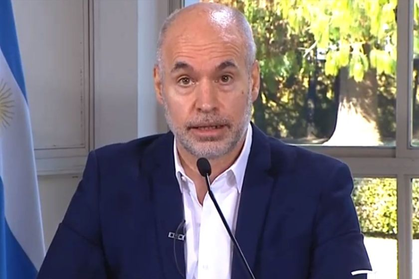 Rodríguez Larreta se contagio de coronavirus
