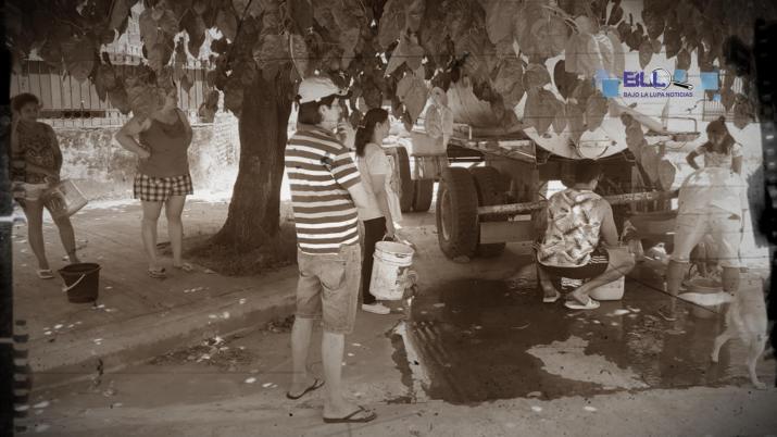 Vecinos de Concepción están sin agua y esperan que Manzur cumpla con su promesa