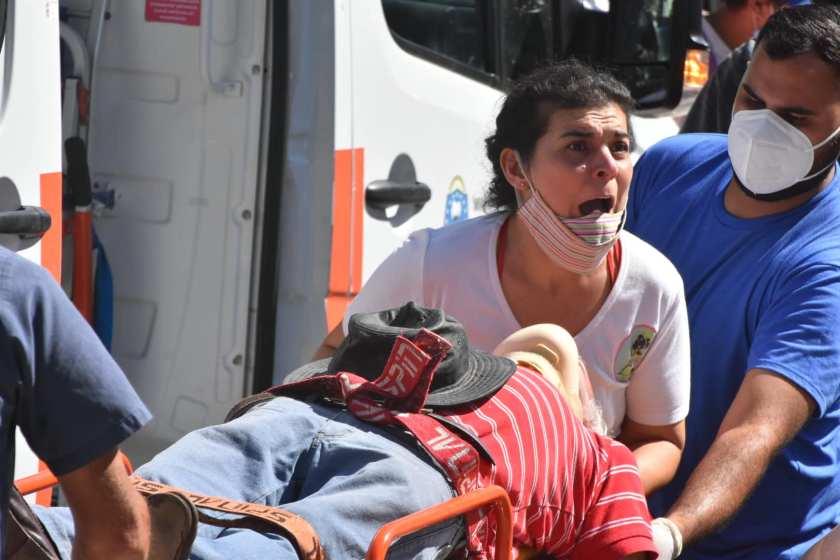 """"""" Vuelta a FASE 1, Protestas y Represion en Formosa """" ( GALERIA DE IMAGENES)"""