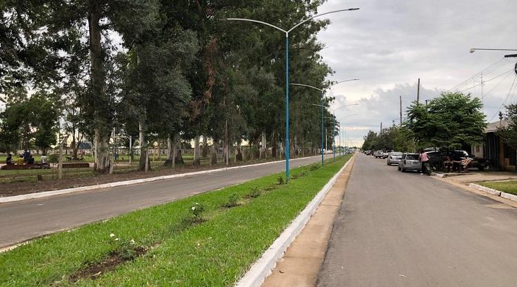 ALBERDI: Iluminación y pavimento para el barrio San Luis Gonzaga
