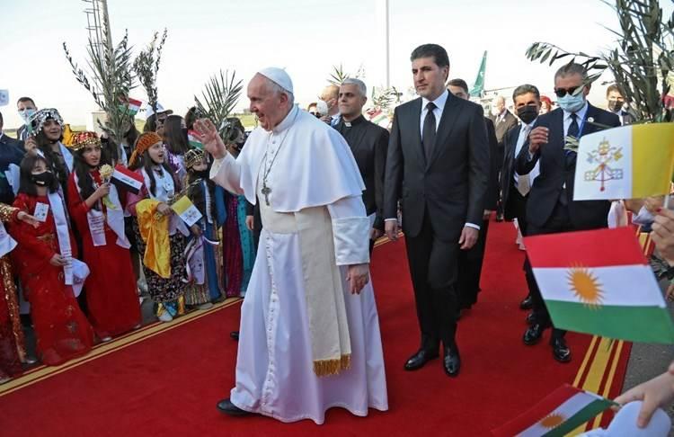 Francisco en Erbil: La Iglesia en Iraq está viva y anuncia la sabiduría de la cruz