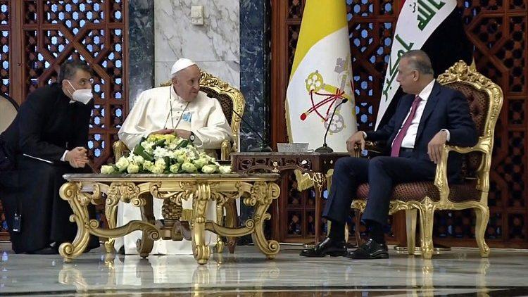 """Francisco llega a Iraq bajo el lema: """"Todos vosotros sois hermanos"""""""