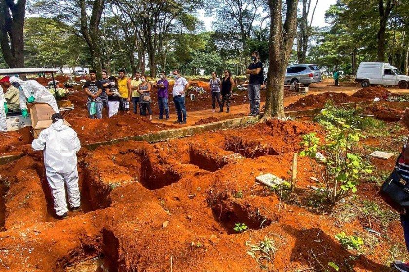 BRASIL: El ritmo de contagios y muertes pone en riesgo a toda América Latina