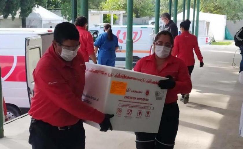 Arribaron las 10.800 dosis de Sinopharm a Tucuman