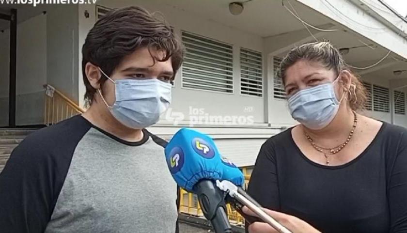 Tucuman: Mateo , quien fue baleado por salvar a su mamá de un asalto volvió a su casa
