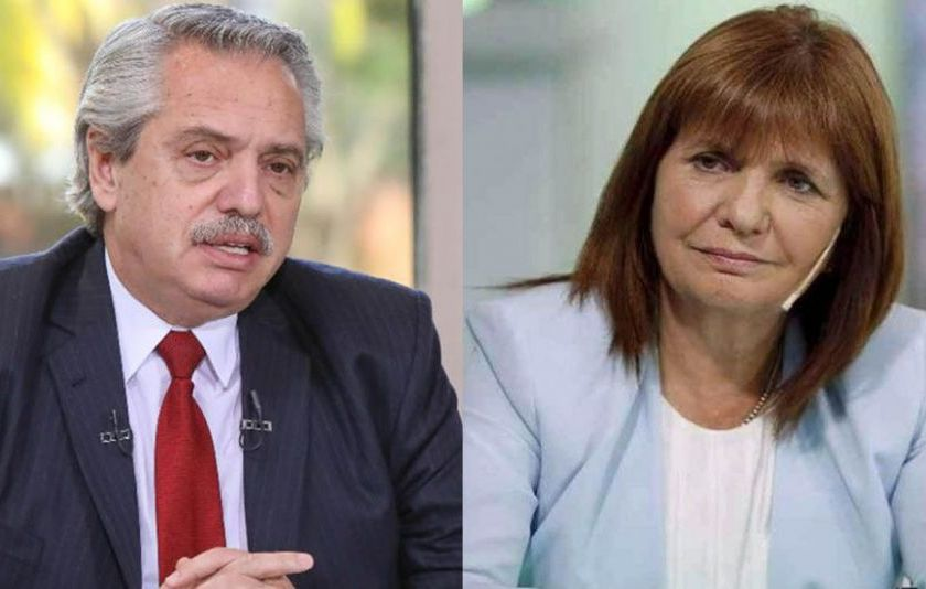 """Denuncias por Pfizer: """" No hubo conciliación entre Alberto Fernández y Patricia Bullrich y el Presidente la demandará por daños contra el honor """""""