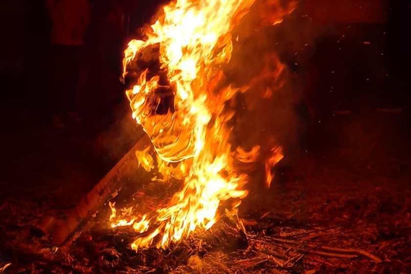 Los tucumanos celebraron la noche de San Juan (VIDEOS)