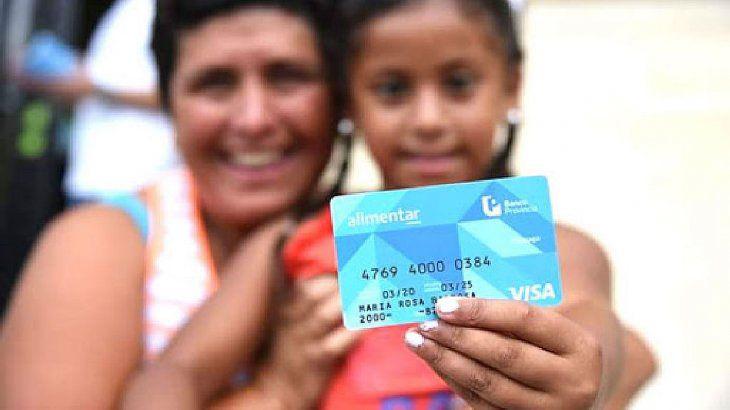 Combate a la pobreza; Tarjeta Alimentar: aumentos del 48% y montos de hasta $25.500 por mes junto a la AUH