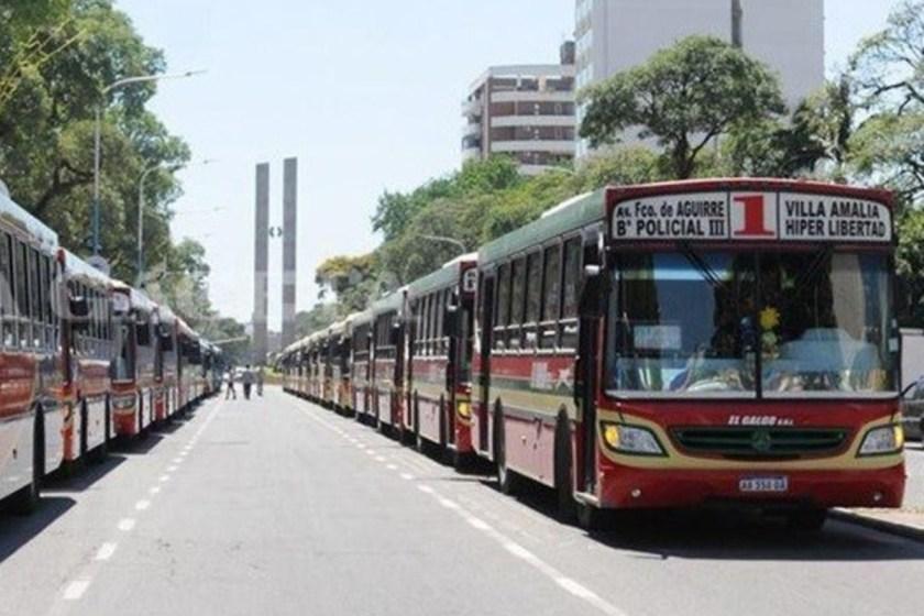 A partir del domingo se levanta el paro de colectivos en Tucuman