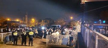 La policía desalojo a 300 jóvenes que participaban de una fiesta en el predio del Aero Club de Yerba Buena