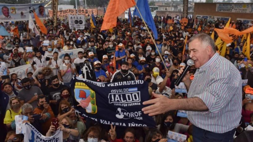 """Osvaldo Jaldo: """"Debemos unirnos todos para darle una mano a Tucumán"""""""