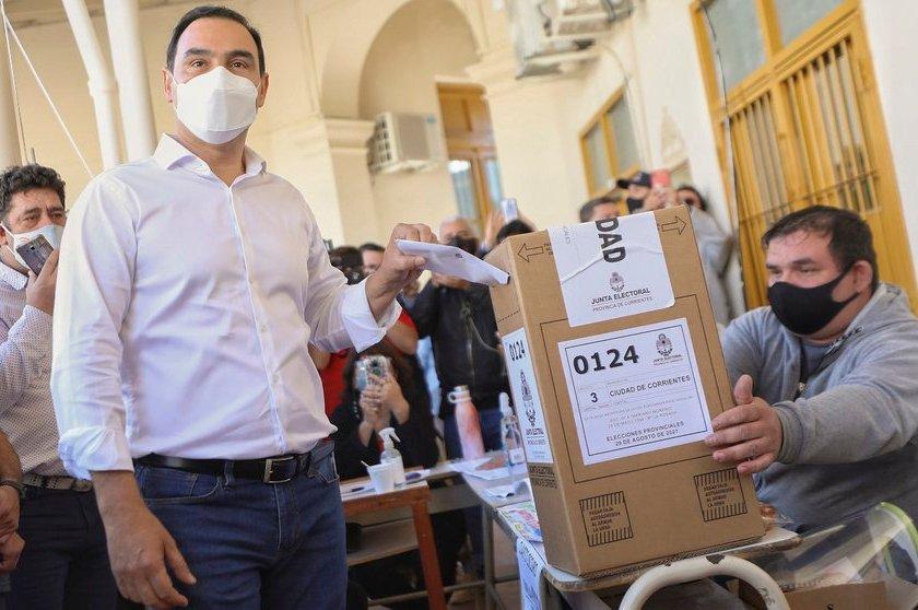 CORRIENTES: Ganó Valdés y será gobernador hasta 2025: logra más del 70% de los votos