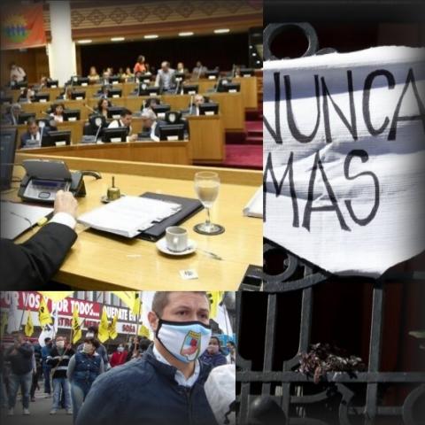 """ GOLPISTA "": Un dirigente manzurista advierte que la Legislatura podría ser intervenida"