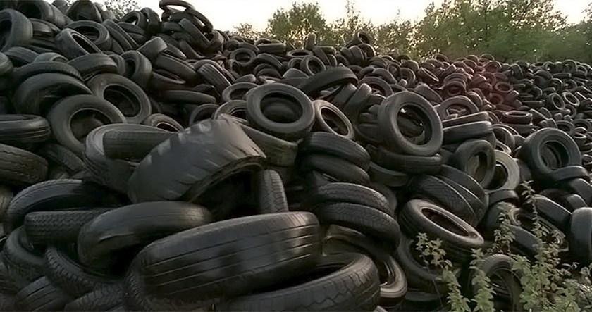 MEDIO AMBIENTE: El senado de la nacion aprueba y envía a diputados un proyecto para el reciclado de neumáticos