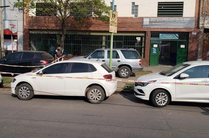 Mientras buscan complices hallaron el  auto en el que se habría escapado Roberto Rejas