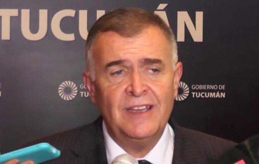 Osvaldo Jaldo confirmó que el lunes asume como gobernador interino de la provincia