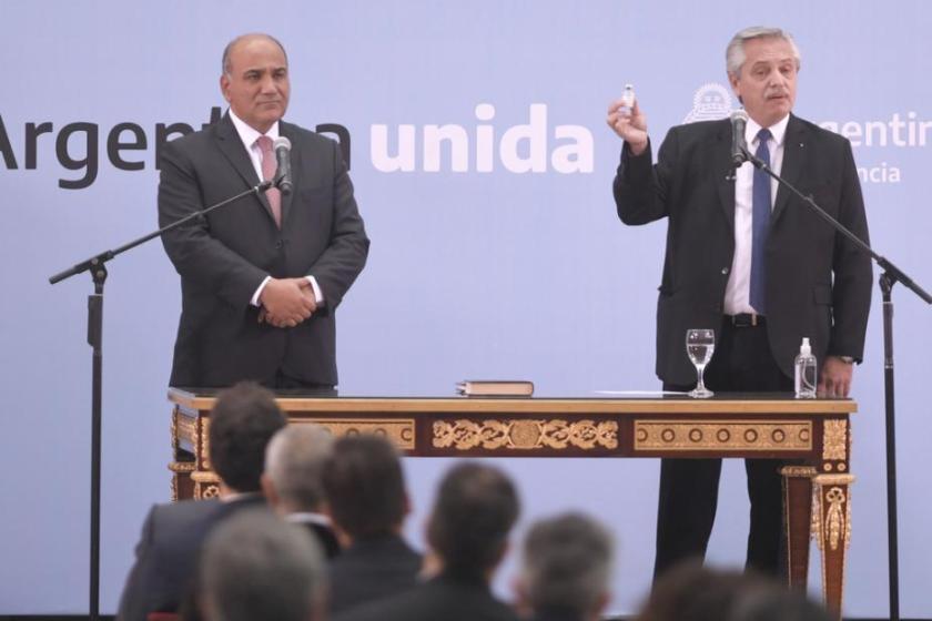 Manzur acrecienta su poder : El presidente Fernández deja en sus manos  la relación con los gobernadores