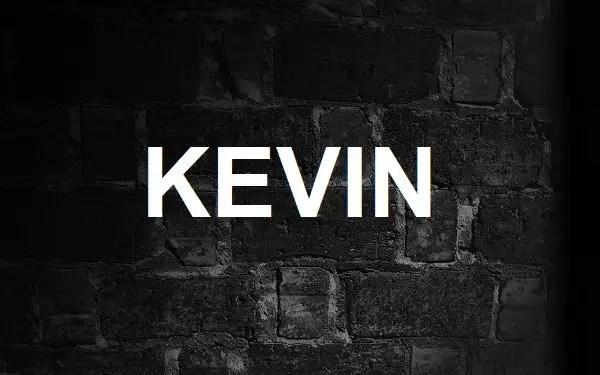 Significado de Kevin y su origen »【Actualizado】