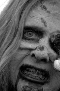 soñar con zombis