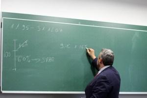 significado de soñar con profesor del colegio