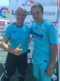 perez Lima con Cesar Sánchez