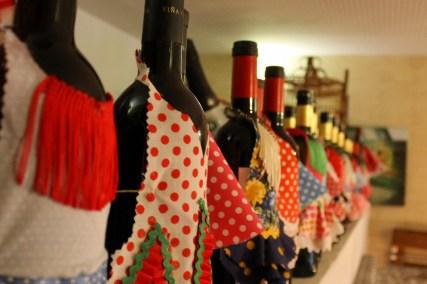 Flamencas de botellas
