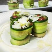 Komkommer carpaccio