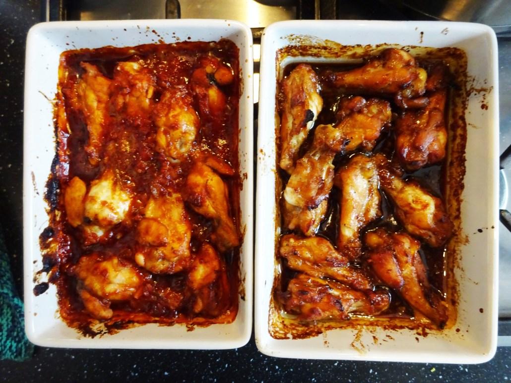 kippenpootjes met tandoori saus