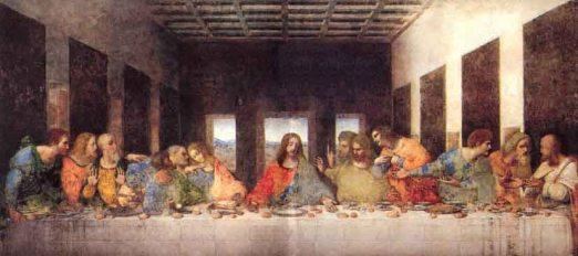 L'Últim Sopar, Da Vinci