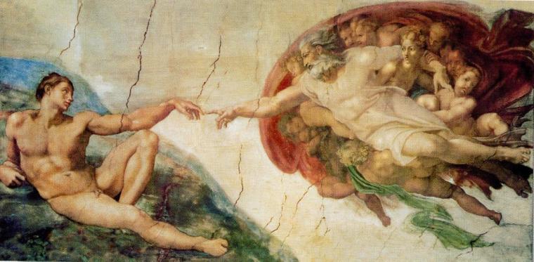 La creació, Miquel Àngel