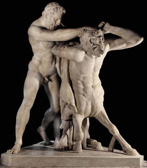 Hèracles i el centaure Nessos