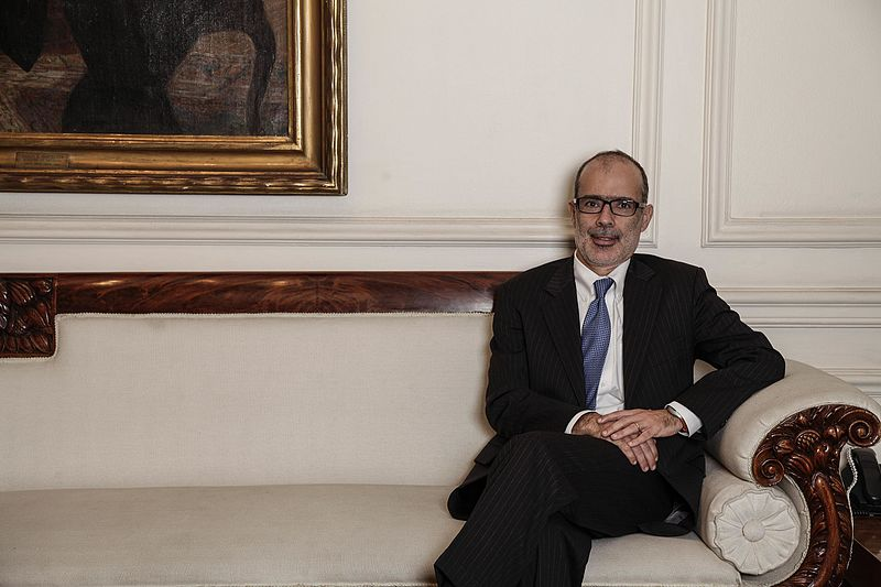 Ministro de Hacienda Rodrigo Valdés