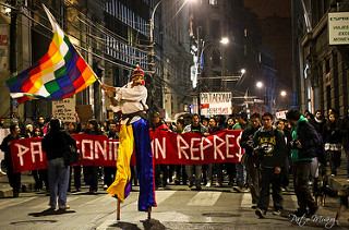 Manifestaciones ciudadanas contra proyectos de generación eléctrica.
