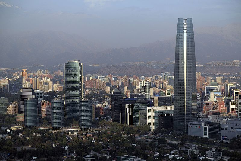 Sanhattan, epicentro del capital financiero de Chile.
