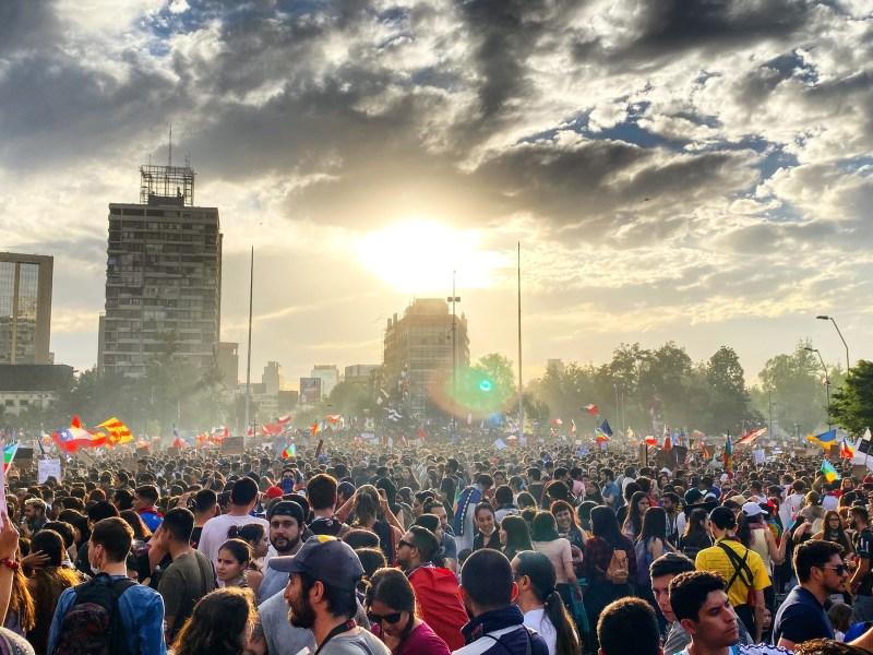 La Marcha Más Grande de Chile.