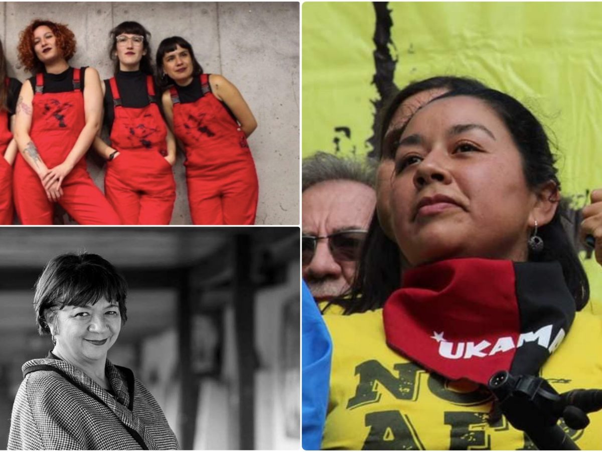 Las mujeres que han dado la talla durante la crisis chilena