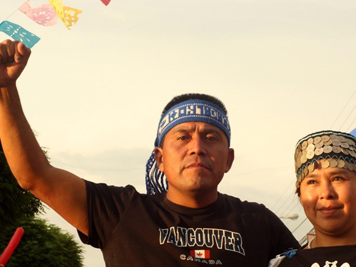 Alberto Curamil Lonko Mapuche ganador del Goldman Enviromental Prize