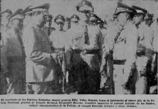 HERMAN BRACHE NUEVO JEFE POLICIA, FOTO 19 ENERO 1965