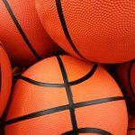 Orange basketball balls