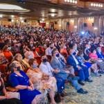 publico en presentacion de agenda diaspora