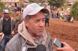 Campesinos Valle Nuevo suspenden protesta frente a Palacio