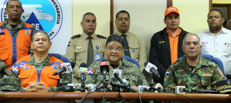 COE emite alerta amarilla en Espaillat y Puerto Plata