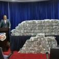 Autoridades se incautan de 345 paquetes de cocaína en un camión