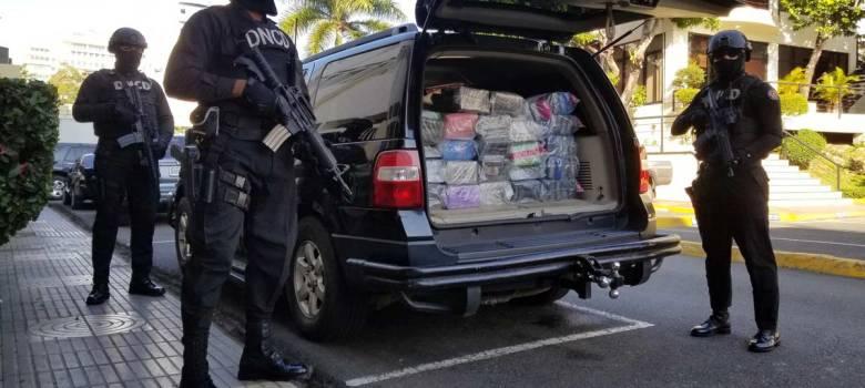 DNCD se incauta de 144 paquetes de cocaína