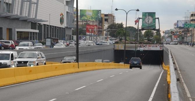 MOPC cerrará 4 túneles y un paso a desnivel por mantenimiento