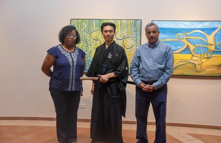 Awilda Reyes, Keigo Yamamoto y José D Laura