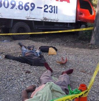 Tres muertos accidente de transito Navarrete