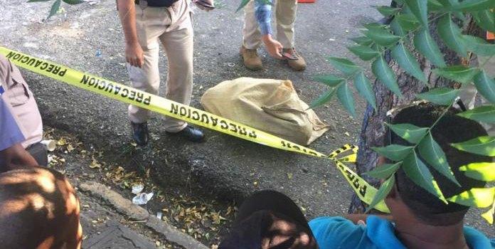 PN apresa presunto autor muerte mujer encontrada dentro de saco